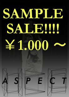 ASPECT SAMPLE SALE