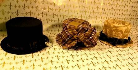 帽子3種。