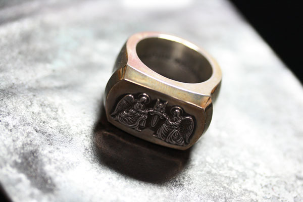 クロムハーツ BIG PJ ANGEL RING