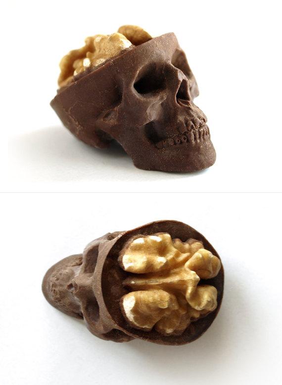 スカル チョコレート