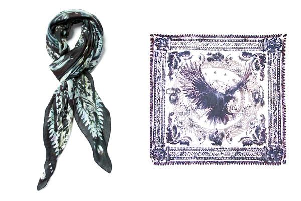 Balmain Eagle Print SBalmain イーグル スカーフcarf
