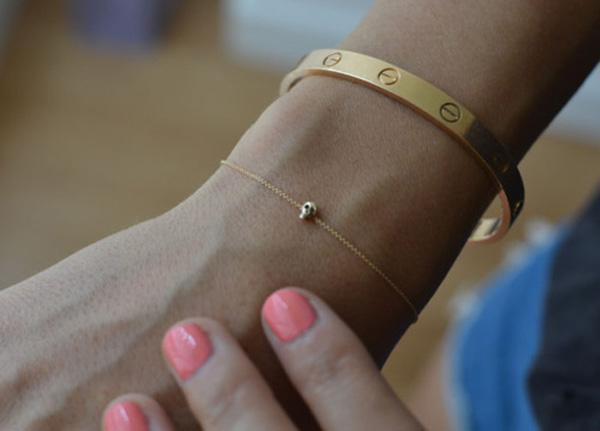 Tiny Skully Bracelet
