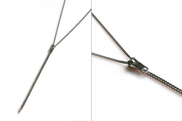 harakiri / zipper necklace