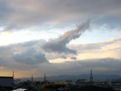 芝生町の雲