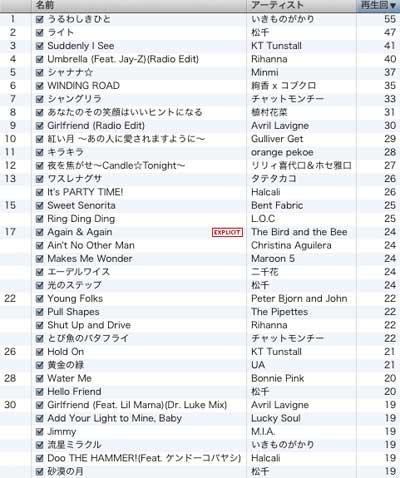 iTunes2007