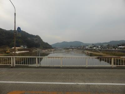 矢掛 観月橋跡