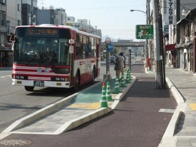 京都 梅小路 自転車道