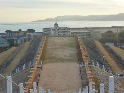神戸 垂水 五色塚古墳