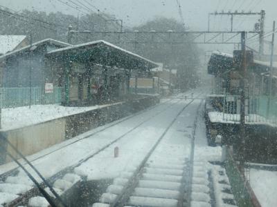 京都 雪 岩倉