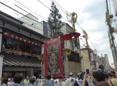 京都 祇園祭 太子山