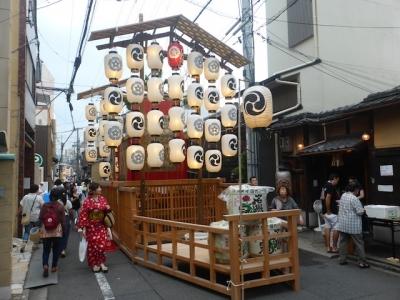 京都 祇園祭 芦刈山