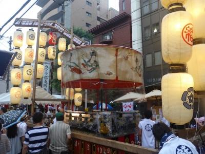 京都 祇園祭 綾傘鉾