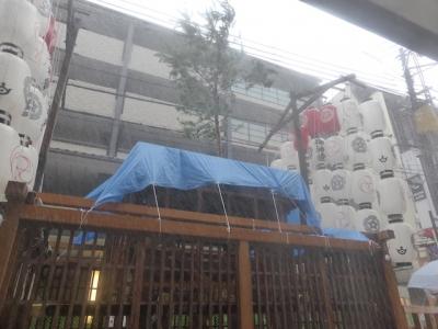 京都 祇園祭 白楽天山