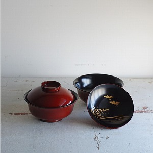 古道具,漆椀