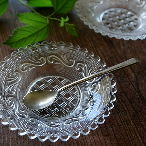 古道具,ガラス皿