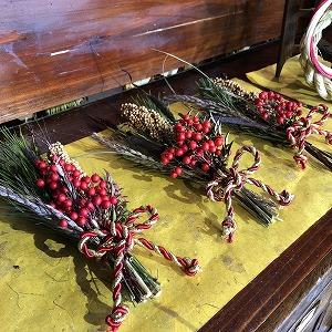 正月飾り,草の音