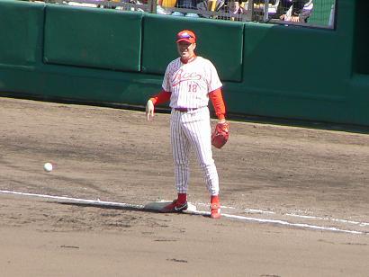 一塁手:佐々岡真司