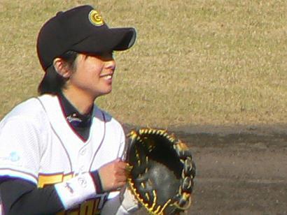 二塁手:片岡安祐美