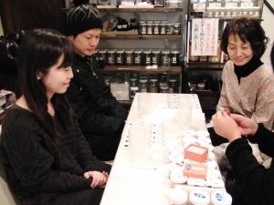 金沢観光お香体験-手作り香り袋体験教室-奈良県