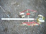 6)矢車を組み立てて下さい