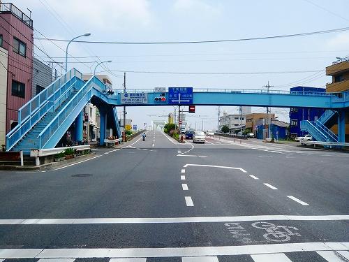 東京方面から市川橋