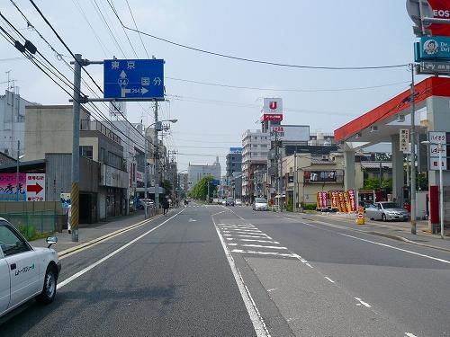 14号上り新田5交差点
