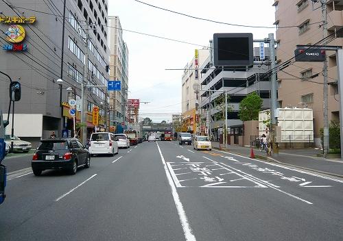 市川松戸道路JR西船橋駅東側直進