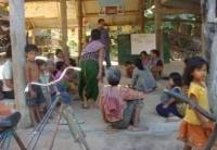 2008年11月コミュニティショップに関する会合の様子です