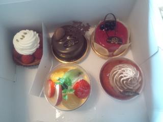 アルプスのケーキ