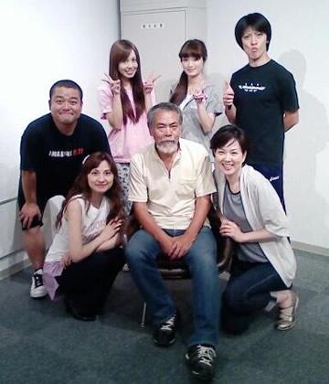 2012/8/29の舞台稽古メンバー