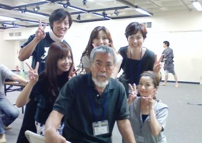 舞台『IMAGINE9.11』稽古にて(2012/9/19)