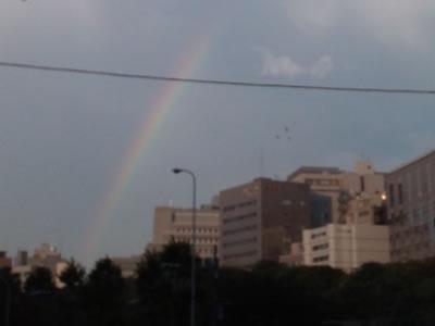 2013.7.7の虹