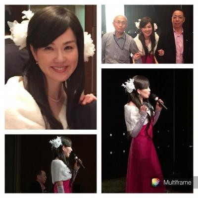 2014/12/4鎌倉プリンスホテルでの太田万砂子歌謡ショー