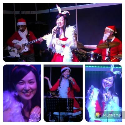 12/18太田万砂子クリスマスライブ写真