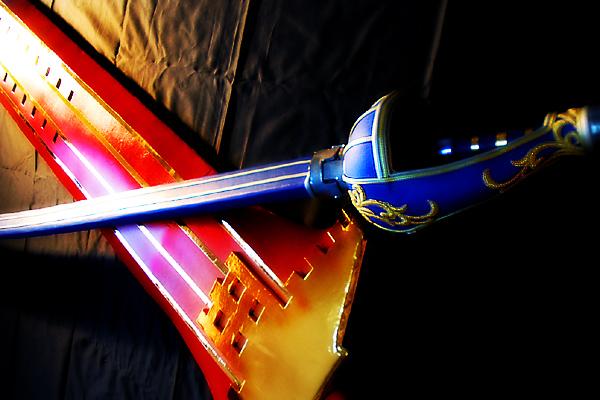 モンスターハンター 軍刀(太刀)・テスカ・デル・ソル(大剣)