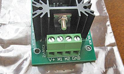 DC-DCコンバーターの入出力端子