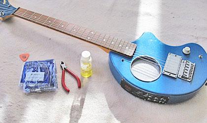 ZO-3と換えの弦