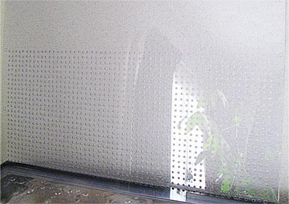 塩ビ板製の自作タンクセパレーターの完成