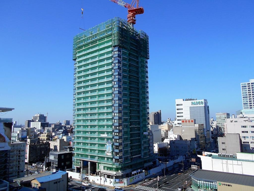 20180312高層棟25階躯体工事中_全景写真