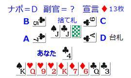 1巡目(D+3)