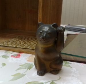 吉村洋傘店 黒猫
