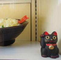 加登長 天ぷらうどん 招き猫