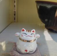 加登長 磁器 招き猫