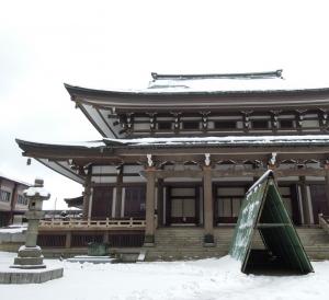 東別院 雪景色