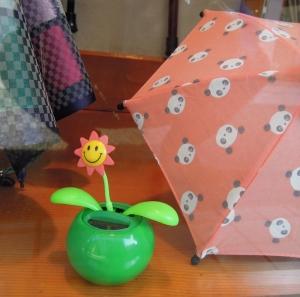 吉村洋傘店の動く花