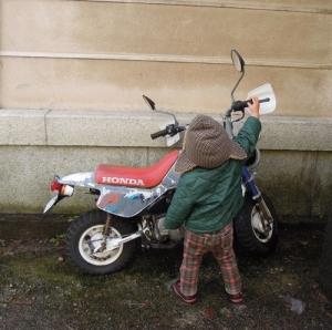 東別院のバイク