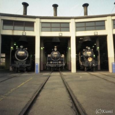 梅小路機関車列