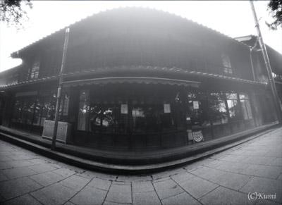 小幡商店白黒