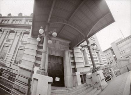 大阪公会堂扉