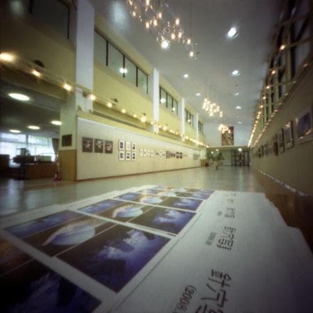 針穴写真展2008会場